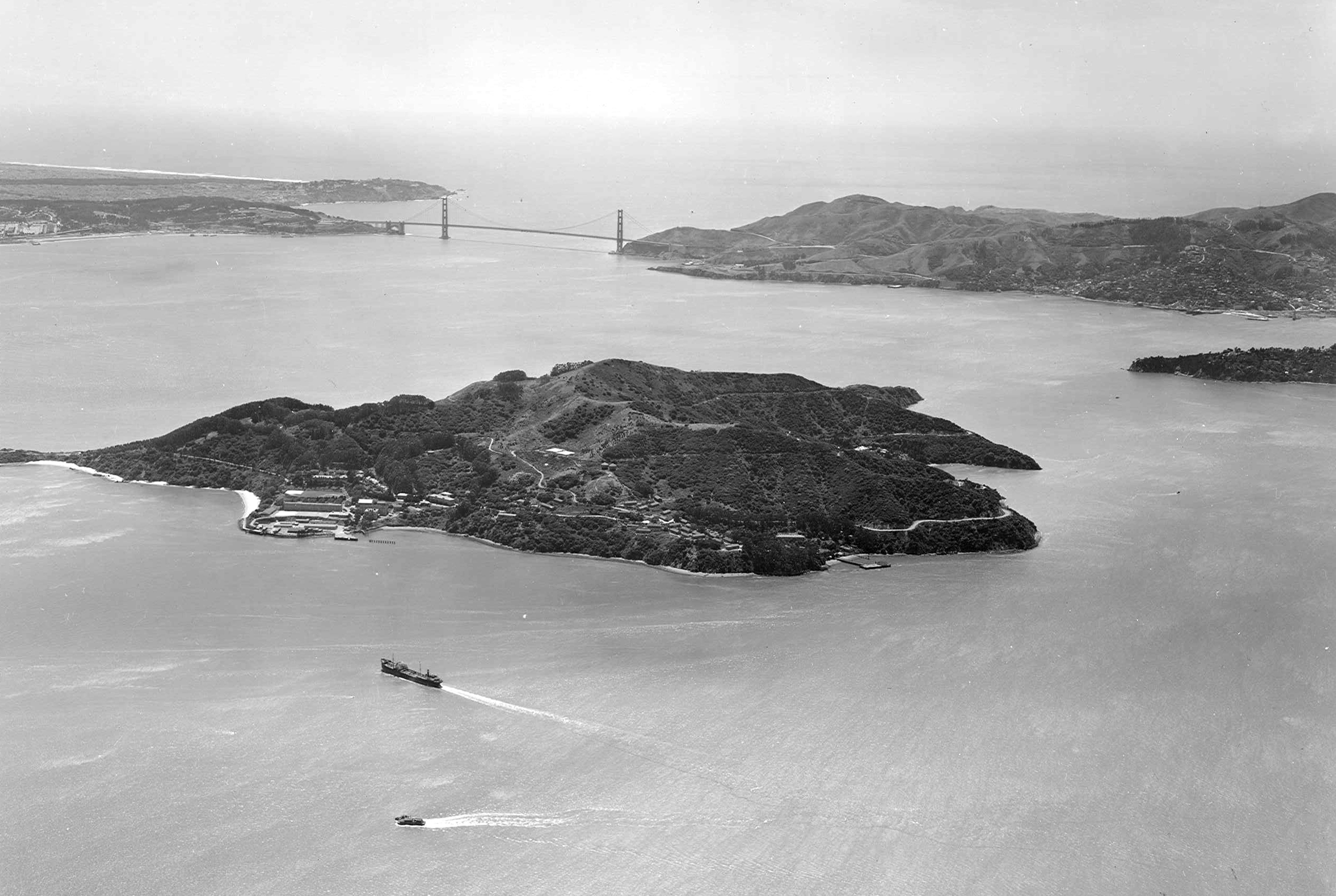 Aerial View - Angel Island