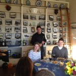 Chef Haydon describes the next course.
