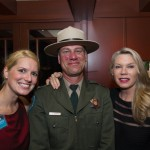 Aliyya Shelley Mattos - AIC Board of Directors, Steve Schory - AISP Supervising Ranger, and Marcine Engel - host and Angel Lights Committee Member