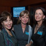 Lisa Klairmont - AIC Board of Directors with Jacquie Klose - AIC Operations Manager, and Amiee Brown - AIC Board of Directors