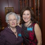 Jeanne Overcashier and Gail Dolton - AIC Board President