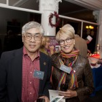 Buck Gee - Angel Island Immigration Station Foundation Board President and Mary Hackenbracht