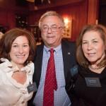 Gail Dolton AIC Board President, Ken and Leslie Wacthel
