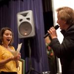 Anya Starovoytov receives raffle prize