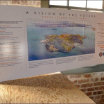 Before dinner I took a look at the plan for Angel Island's future.  It looks wonderful, really wonderful.  What a gift to over two hundred thousand visitors a year!