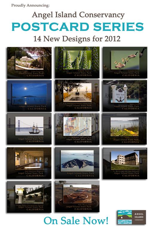 Angel Island Postcard Series
