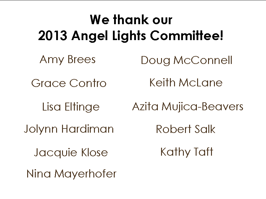 Image - We Thank Our Angel Lights Committee 11 12 13