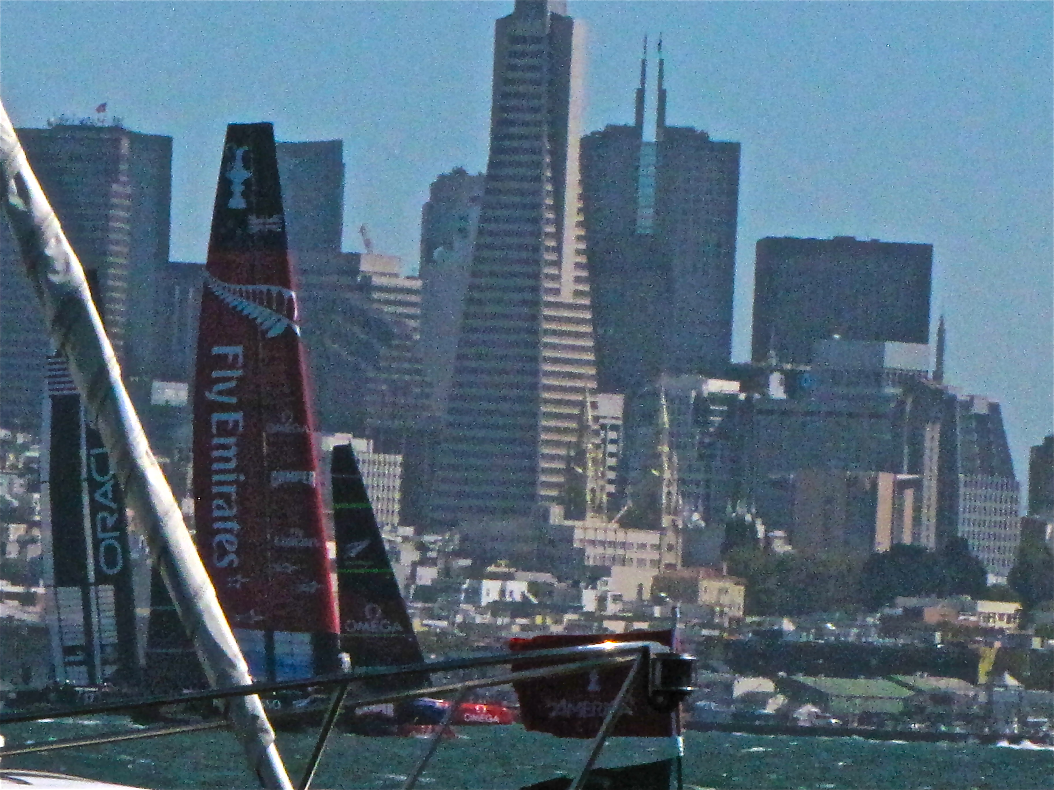 America's Cup Adventure by Land and Sea