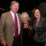 Doug Dolton, Jeanne Overcashier - Presenting Sponsor, and Gail Dolton - AIC Board President