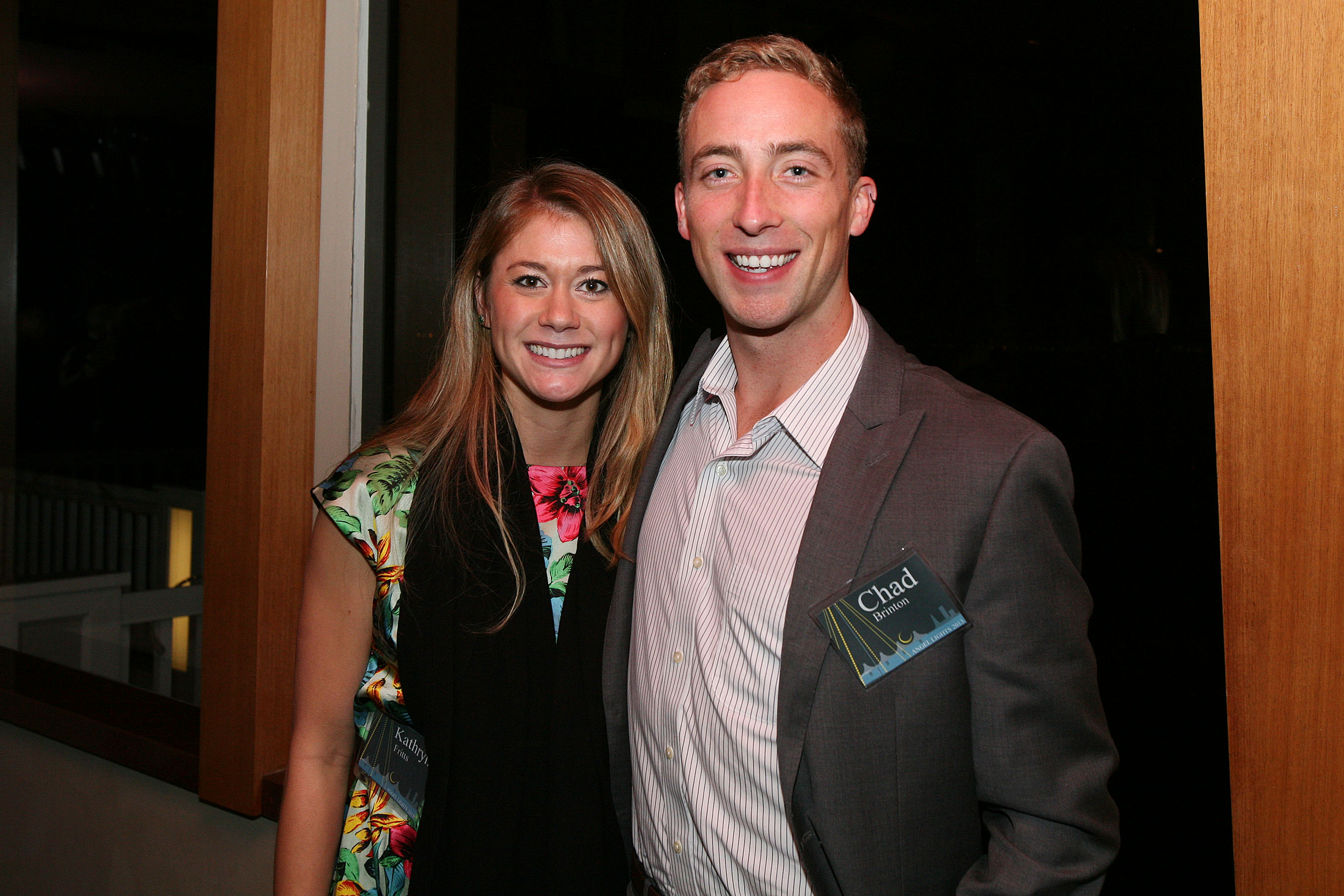 Kathryn Fritts and Chad Brinton