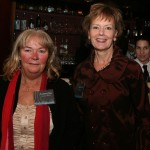 Loretta Beaudry Minton and Kristine Brown - former AIC Board Secretary