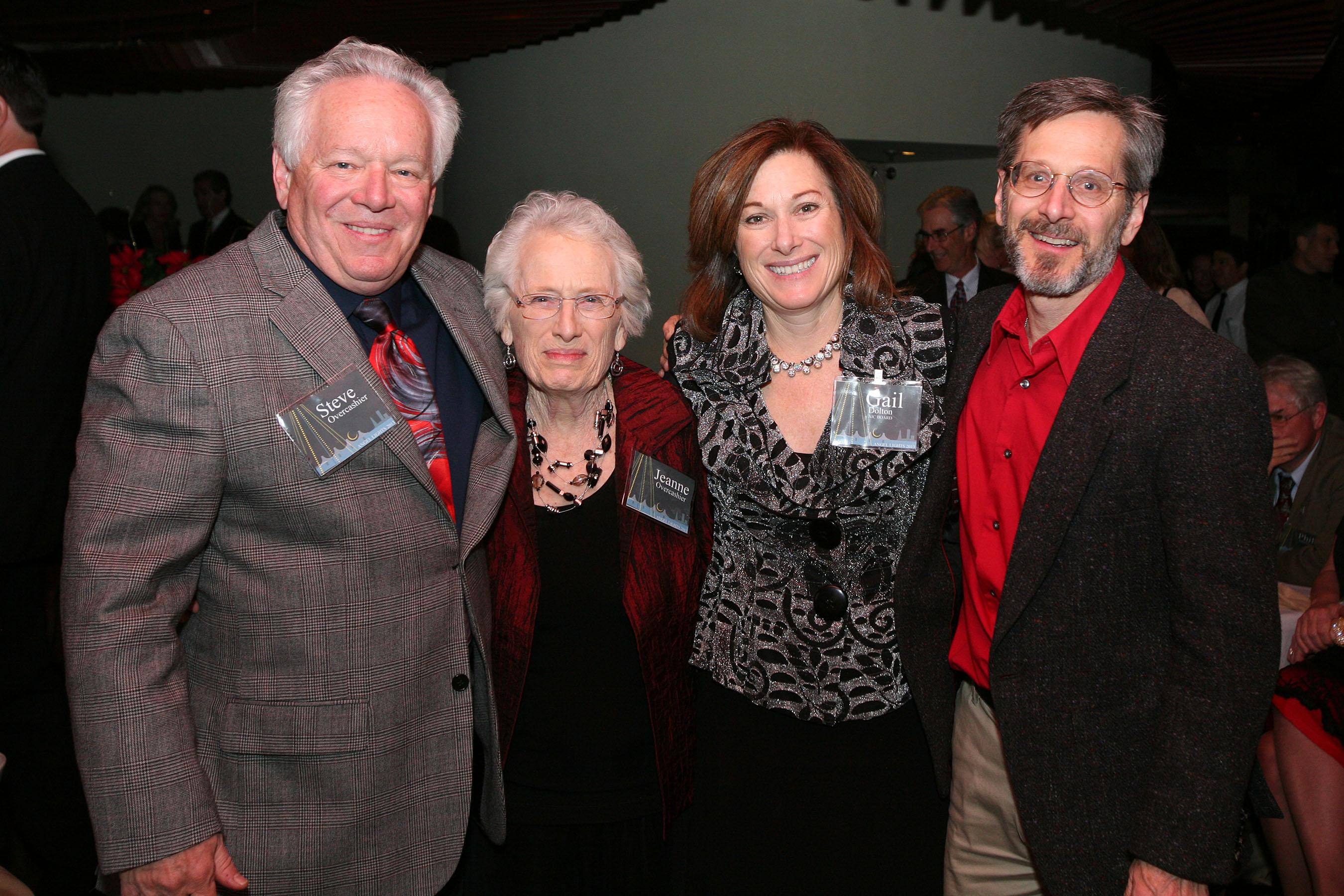 Steve Overcashier, Jeanne overcashier, Gail Dolton, and David Overcashier
