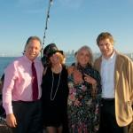 Tyler Hofinga, Carol Cosgrove, Leslie Ruhland, and Greg Johnson - AIC Board President