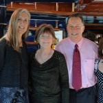 Deborah Cussen, Rosemary Galloway - AIC Board Treasurer, Tyler Hofinga, and Gail Dolton